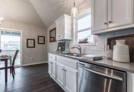 kitchen in Monarch floor plan