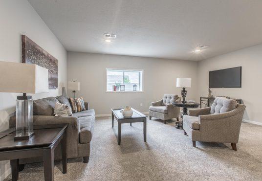 basement rec room Monarch floor plan